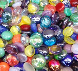 Creative Stuff Glass - Vase Fillers - Glass Gems - Aquarium Rocks Gravel Stones