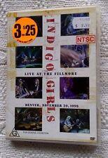 Indigo Girls - Live At The Fillmore - Denver (DVD) R-4, LIKE NEW, FREE POST