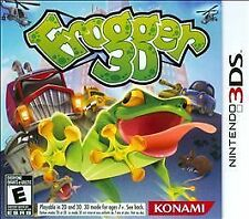 Frogger 3D Game For Nintendo 3DS 3 DS in case Works perfectly