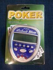 Labatt Blue Poker Handheld Video Game New in Package