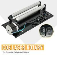 Regular Rotary Axis F/ 50/60/80/100W CO2 Laser Engraver Cutter Engraving Machine
