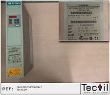 SIMOVERT VC  Siemens 6ES7 016-1TA61-Z   SPS PLC