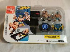 John Cena and Sin Cara Starter Set  WWE Rumblers APPtivity Toy Wresting Action