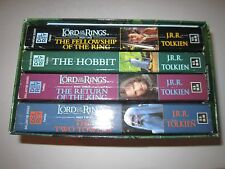 2001 LORD OF THE RINGS 4 BOOK BOX SET - SEE PICS - OFC-CC