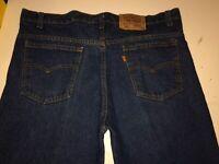 Vintage LEVI's 517 Orange Tab Blue denim jeans 38 x 34