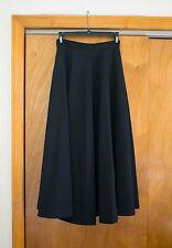 Tokio Kumagai Black Wool Skirt
