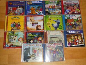14 Stück CD Sammlung Kinder Hörbuch Hörspiel f. Jungen Mädchen Conni Hexe Lili