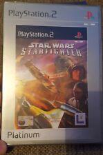 PS2 Star Wars Starfighter Platinum (2001) UK Pal, New & Factory Sealed