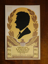 Abraham Lincoln, Hand Made Serigraph, Limited Edition #22, Sheehan
