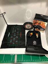 "10"" Roulette Wheel Game Set Casino Fathers Day Dorms Coworker Gift"