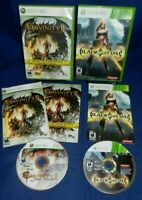 Lot of 2 XBox 360;Divinity 2 Ego Draconis Best Buy Ed,Blade of Time,w/Manuals,VG