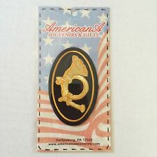 Civil War Union Army Us Infantry Horn Embossed Sew On Patch New 12137