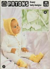 Patons Vintage Crocheting and Knitting Patterns