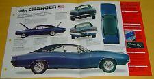 1968 Dodge Charger RT Mod 440 ci 440 hp 2/4 Barrel Carbs Info/Specs/photo 15x9