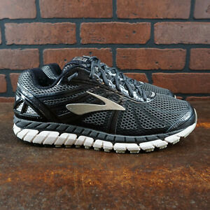 VGC! Brooks Beast 16 Mens Size 11 Running Shoes Black Gray Silver