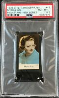 1935 Bridgewater Film Stars 4th Series #47 Myrna Loy - PSA 8.5 NM-MT+