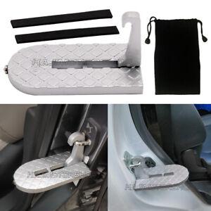 Folding Car Door Latch Hook Step Mini Foot Pedal Ladder for Jeep Truck SUV RV