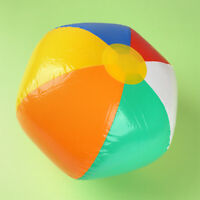 1Pc Funny Inflatable Ball Kids Beach Pool Play Toy Ball Children Outdoor Toy