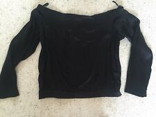 Off shoulder Black top sz 8, Bardot, Brand New