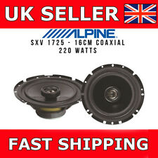 "Car Front / Rear Door Speaker Upgrade SXV-1725E 6"" 6.5"" 220W Coaxial 16/16.5cm"