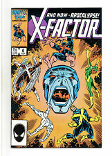 X-Factor Vol 1 No 6 Jul 1986 (VFN+) Marvel, 1st full app of Apocalypse