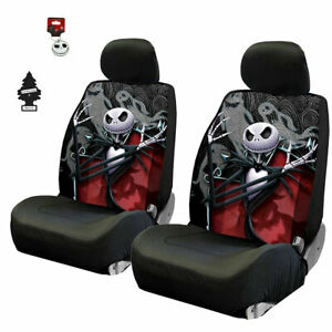 For Audi Jack Skellington Nightmare Before Christmas Ghostly Car Seat Cover