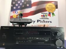 Pioneer VSX-D511 5.1 Channel Audio Video Stereo Receiver w Remote XXD3038 Bundle