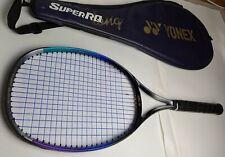 Wison Yonex Super RQ-500 Long Tennis Racquet 4 1/2 Grip with Bag Purple Black