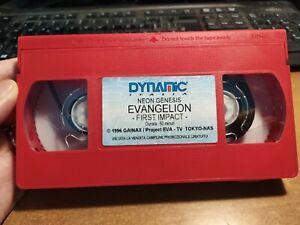 RARA VHS NEON GENESIS EVANGELION EVENTO FIRST IMPACT PROMOZIONALE VIDEO ANIME