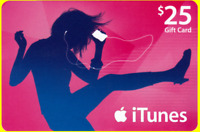 $25 APPLE US iTunes GIFT CARD FAST (USA iTunes Store)
