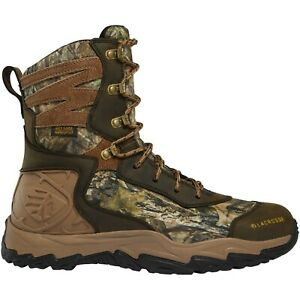 """Lacrosse Men's 513361 Windrose 8"""" Mossy Oak Break-Up 600G Hunting Boots Shoes"""