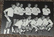 postcard Belgium teamphoto by Bergmann-West Germany for Mexico 70 world cup