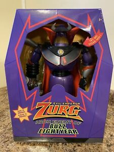 """Toy Story Talking Light Up Emperor Zurg Action Figure 15"""" New"""