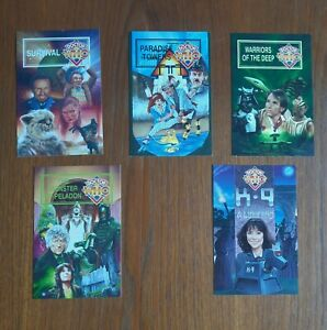 Doctor Who Postcards (1995) - VERY GOOD Condition