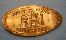 Happy Easter elongated penny Usa cent Holy Bible souvenir coin Kirka