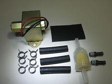 Fuel Pump Electric 12 V Univ 4-7 PSI 25-35 GPH Fittings Filter Rubber Pad 7781