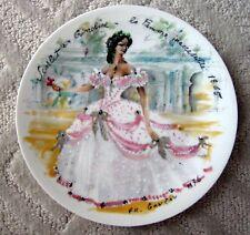 Henri D'Arceau Limoges Les Femmes Du Siecle 1865 plate; beautiful, colorful