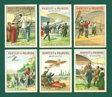 NOSTALGIA CLASSICS - 20 SETS OF P 12 - HUNTLEY & PALMERS LTD. ' AVIATION ' CARDS