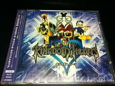 KINGDOM HEARTS 1 I OST Playstation PS2 Game Music SOUNDTRACK CD 8053-4