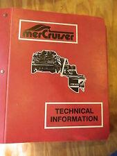 Mercruiser C-90-34232 Factory Service Manual Mercury Outboard