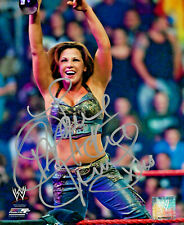 WWE MICKIE JAMES HAND SIGNED AUTOGRAPHED 8X10 PHOTOFILE PHOTO WITH PROOF & COA 2