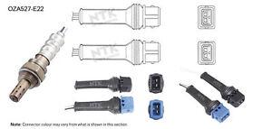 NGK NTK Oxygen Lambda Sensor OZA527-E22 fits Citroen BX 1.9, 1.9 GTi, 1.9 GTi...