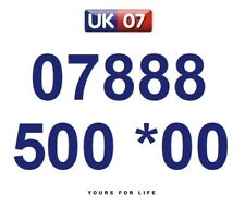 07888 500 *00 Numbers - Gold Easy Memorable Business Platinum VIP Mobile Numbers