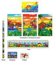 24 Dinosauro 5 pezzi Cancelleria Sets - Nuovo Commercio all'ingrosso cancelleria