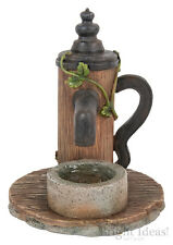 Vivid Arts - MINIATURE WORLD FAIRY GARDEN HOME ACCESSORIES - Wooden Water Pump
