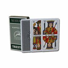 Modiano Triestine Italian Regional Plastic Playing Cards