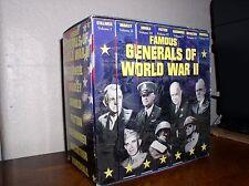 Famous Generals of World War II (VHS, 7-Tape Set, MM&V)
