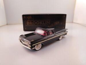 Brooklin Models 1959 Chevrolet El Camino Pick-Up with Box BRK46