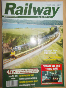 Railway Magazine August 1992