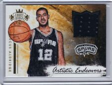 2015-16 Panini Court Kings Artistic Endeavers Jersey LaMarcus Aldridge 78/299